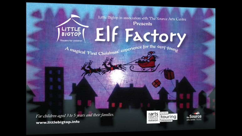 Elf Factory flyer